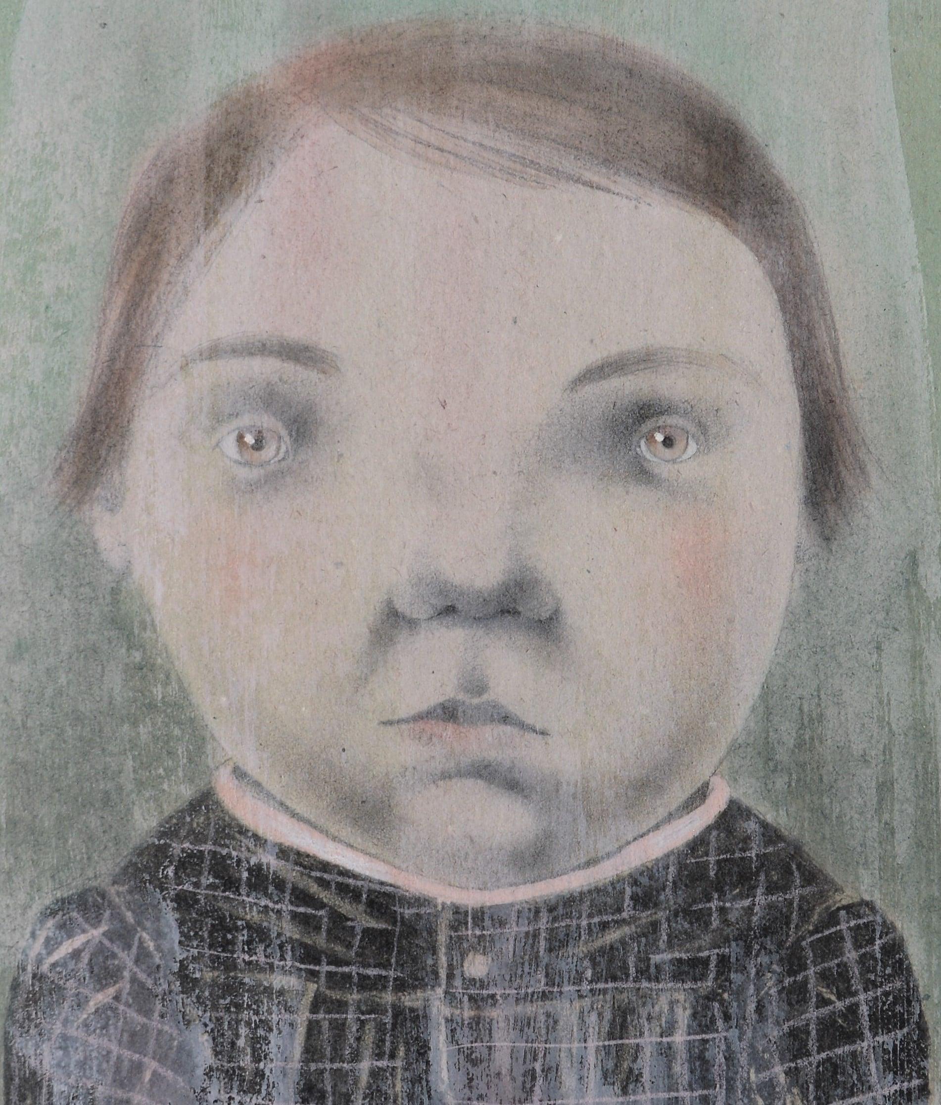 Portret, Ingrid Godon , 2014