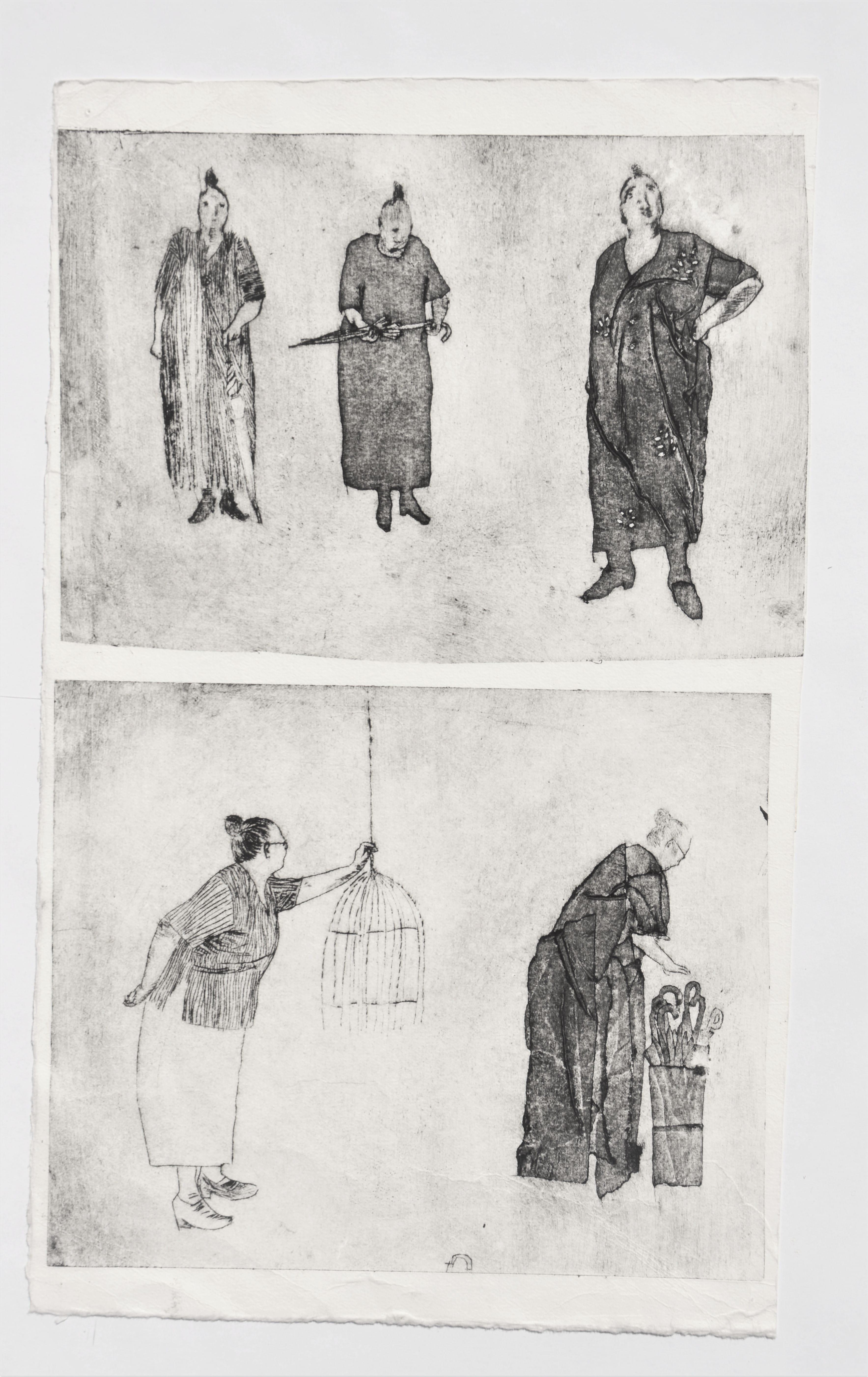 De vrouw, studies, Kaatje Vermeire, origineel